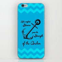 Who Is Your Anchor? iPhone & iPod Skin