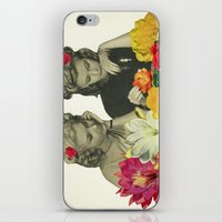 Flower Collectors iPhone & iPod Skin