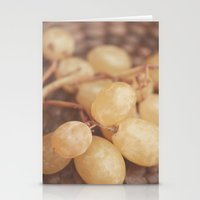 White Muscat Grapes Stationery Cards