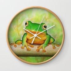 Taipei TreeFrog Wall Clock