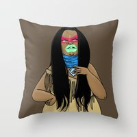 SJOKOLADE 10 Throw Pillow