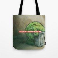 Trashcan : Bubblegum Tote Bag