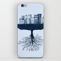 The World Against The Wo… iPhone & iPod Skin