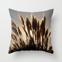 Feathers Throw Pillow