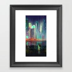 Transistor By Night Framed Art Print