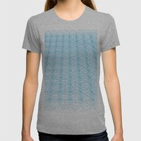 Circle Tromp L'Oeil Womens Fitted Tee Athletic Grey SMALL