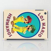 Los Mario Hermanos iPad Case