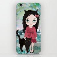 Séraphine iPhone & iPod Skin