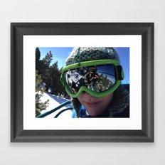 The Gnar Framed Art Print