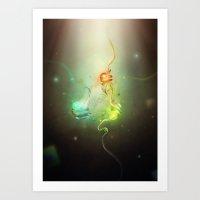 DNA Mutations Art Print