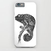 iPhone & iPod Case featuring Chameleon  by Ejaculesc