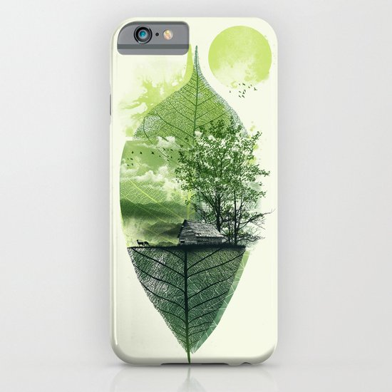 Live in Nature iPhone & iPod Case