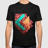 Tulips Mens Fitted Tee Tri-Black SMALL