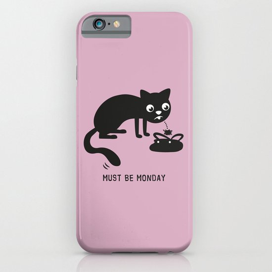 Must Be Monday, Cat iPhone & iPod Case