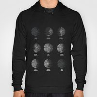 The Death Star Moon phase. Hoody