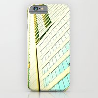 iPhone & iPod Case featuring Yellow Skyscraper by Emily H Morley