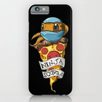 iPhone & iPod Case featuring Ninja Squirtle by Johnaddyn