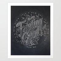 Feeling Good Art Print