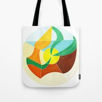 Girl With Golden Earing Tote Bag