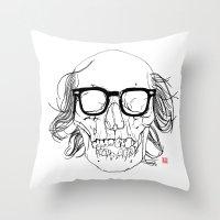 My best friend, Death Throw Pillow