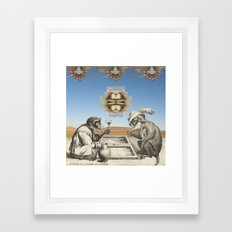 Gambling Framed Art Print