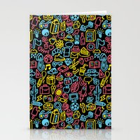 Galore (black version) Stationery Cards