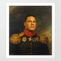 John Cena - replaceface Art Print