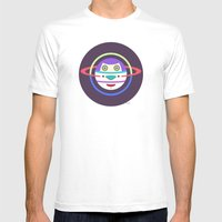 Spaceman 2 Mens Fitted Tee White SMALL