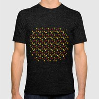 Candy Dream Mens Fitted Tee Tri-Black SMALL