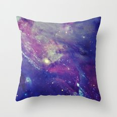 Galaxy Collage I Throw Pillow