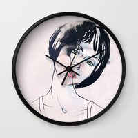 Mod Girl Wall Clock