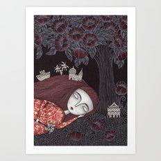 Tree of Forever Dreams Art Print