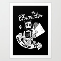 The Chronicles of Rock and Roll! Art Print