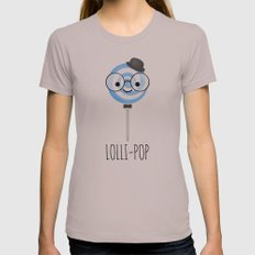 Lolli-pop Womens Fitted Tee Cinder SMALL