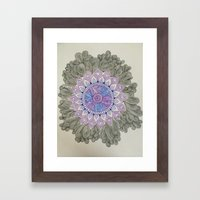 Burst Framed Art Print