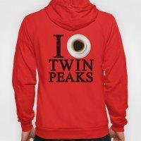 I Love Twin Peaks (Coffe… Hoody