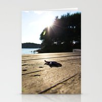 Lonely Star Stationery Cards