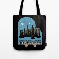 Rhapsody In Blue - Gersh… Tote Bag