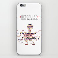 Octopulse | Design By Se… iPhone & iPod Skin