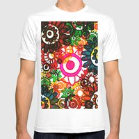 Hippy Shake! Mens Fitted Tee White SMALL