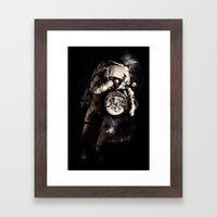 It's A Small World After… Framed Art Print