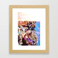 Regurgitate Wave Framed Art Print