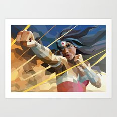 WonderWoman Art Print