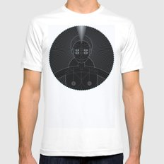 Muse SMALL Mens Fitted Tee White