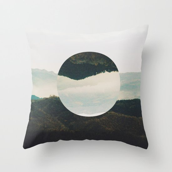 Up side down Throw Pillow