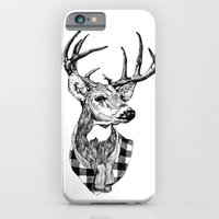 iPhone & iPod Case featuring Mr Deer by luradontsurf