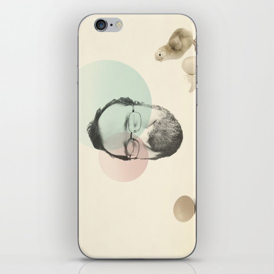 chicken and the egg iPhone & iPod Skin