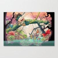 Jungle Kid. Canvas Print
