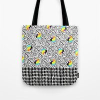 Tropical Abstract Tote Bag