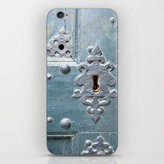 Old lock iPhone & iPod Skin